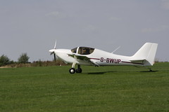 G-BWUP Europa [PFA 247-12703] Sywell 010918
