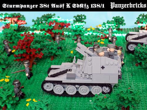 Sturmpanzer 38(t) Ausf K de Panzerbricks