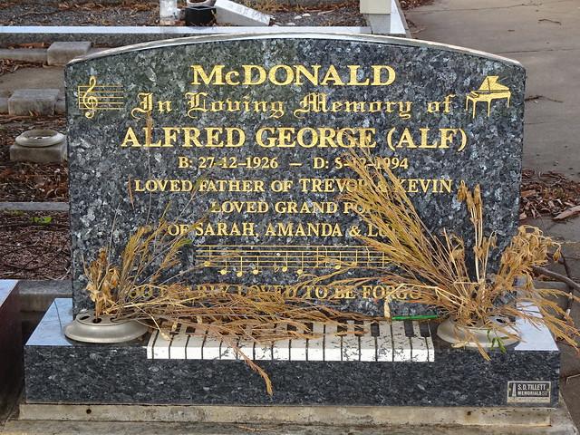 Alf McDonald: Musician