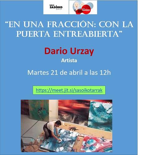 Darío Urzay, esperada videoconferencias de BBK Sasoiko