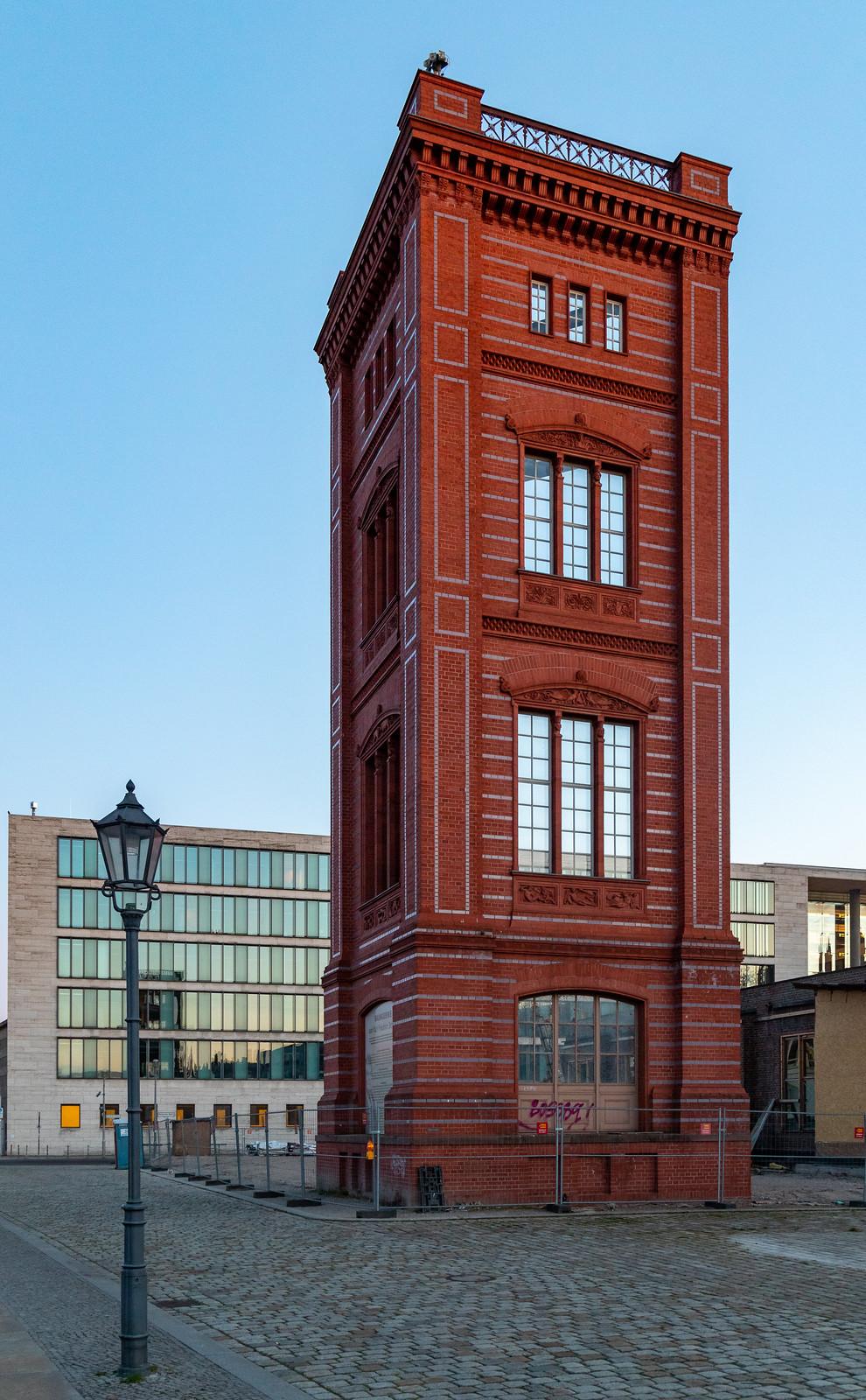Die Modellfassade der Bauakademie