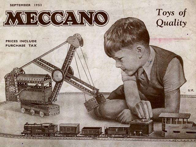 Meccano Catalogue September 1952