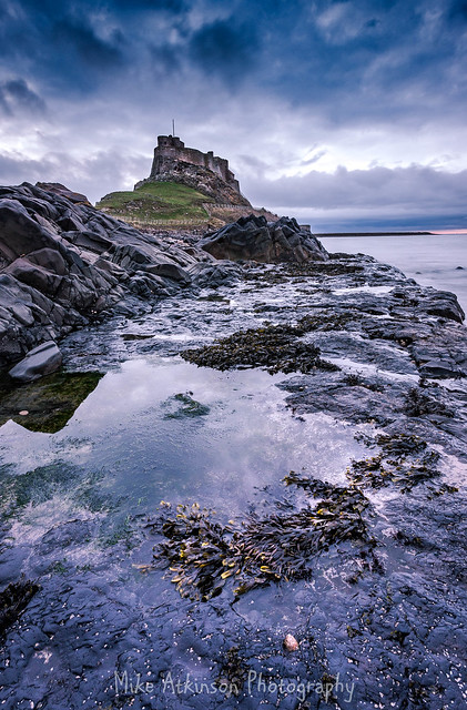Lindisfarne Castle Early Morning View (Revisited)