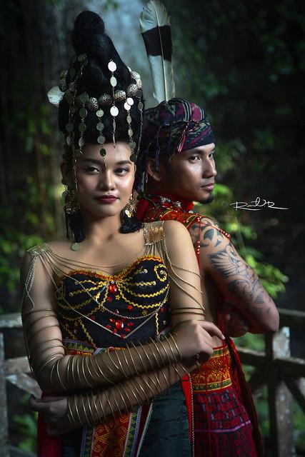 Sarawak Etnics Conceptual Photoshoot : Iban Series
