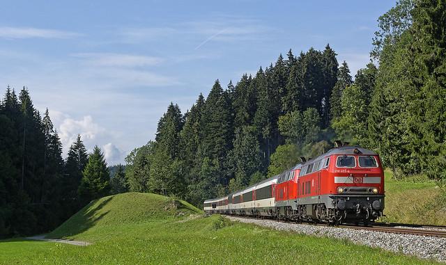 Oberthalhofen, DB 218 403-4 + 218 416-6