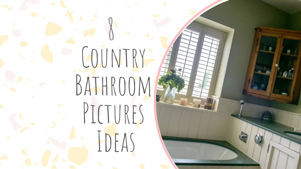 8 Country Bathroom Pictures Ideas