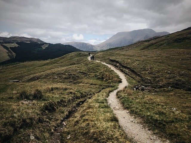 West Highland Way - day 6. Kinlochleven to Fort William