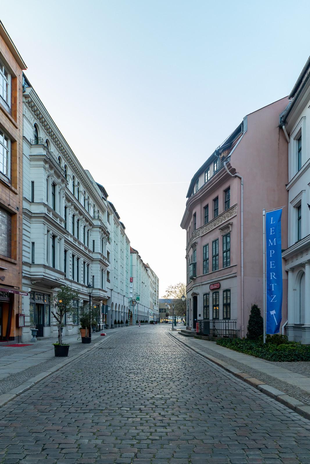 Die Poststraße im Nikolaiviertel