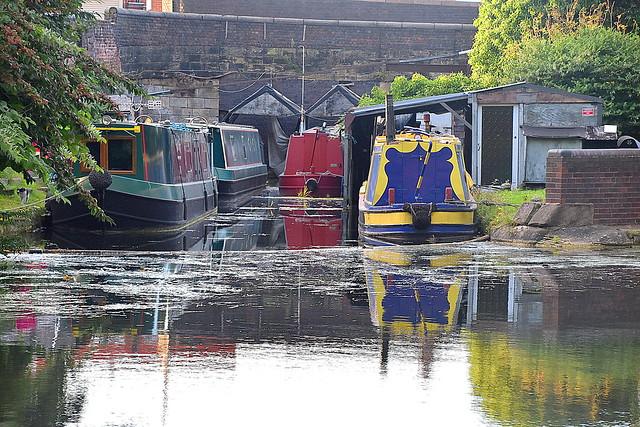 Wharf, Broad Street Basin (Canal), Wolverhampton.