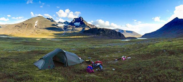 Tent spots