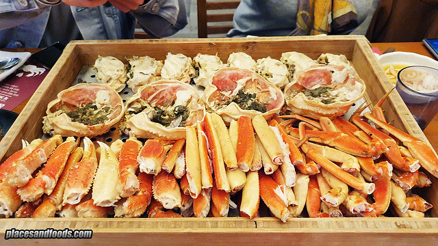 the east busan steamed crabs