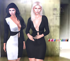LRD Dress Holly Colors
