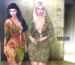 LRD Dress Holly Flowers
