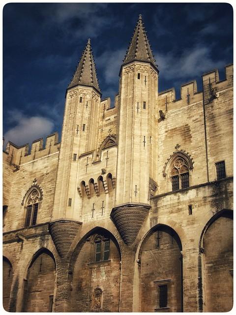 Palais des Papes (Pope's Palace), Avignon 2009