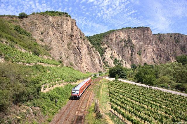 628 494 als RB von Mainz Hbf nach Türkismühle zwischen Bad Münster am Stein und Norheim am 24.06.14