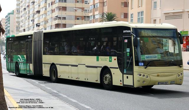 AUTOBUSES DE LA LINEA INTERURBANA CADIZ - SAN FERNANDO. SU HISTORIA - Página 2 49788780438_2618063eb1_z