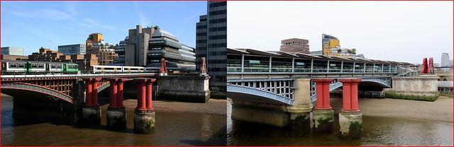 Blackfriars Bridge`2008-2020