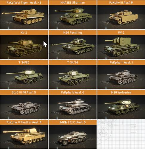 TMS - Range of vehicles