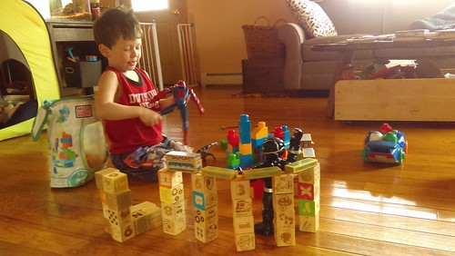 building a town for super heros