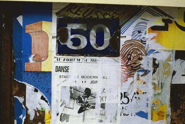 Poster for Au Forum Du Mouvement, 20e Paris 1984-paris236