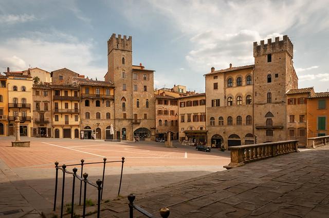Arezzo; Piazza Grande