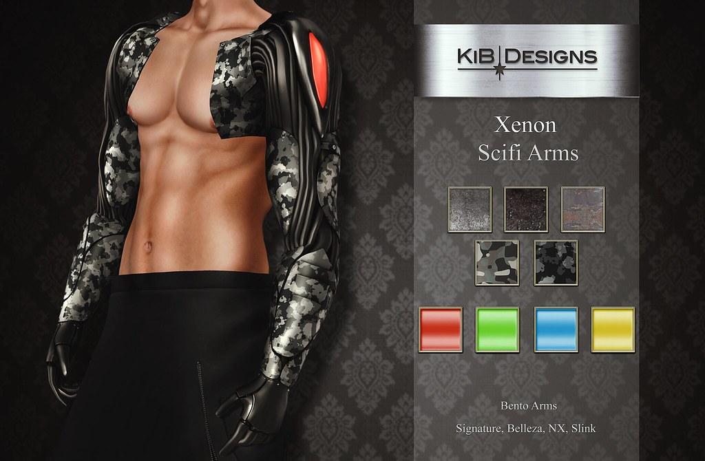 KiB Designs – Xenon Scifi Arms @Aenigma Event