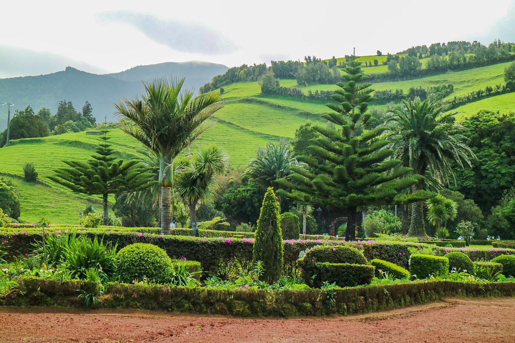 Jardín del Miradouro Ponta do Sossego