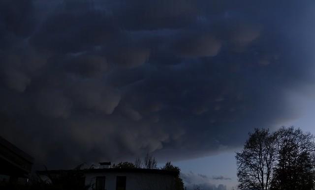 Wolken-Struktur bei Abzug 004