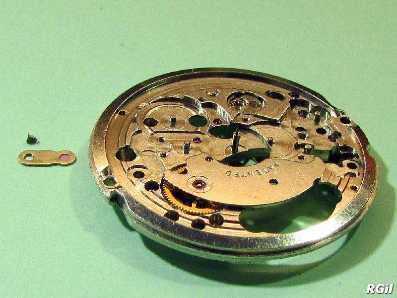 Revisión de un reloj Valgine con un mecanismo ETA 2452 1ª parte