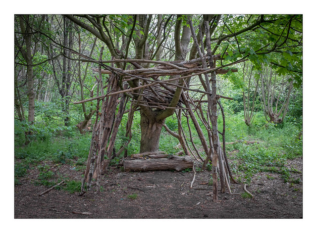 The Built Environment, Wick Woods, East London, England.