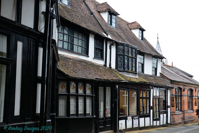 Shrewsbury - Half Timbered Building - A Mish Mash Of Architectural Styles Explored 18 April 2020