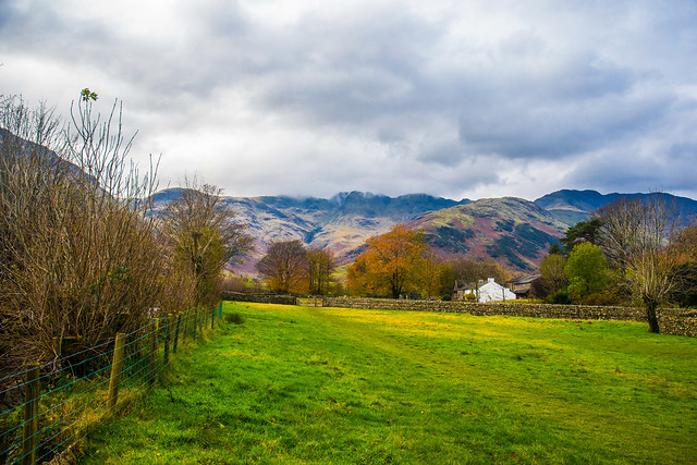 Great Langdale in the distance