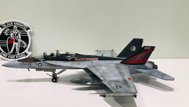 FA-18 F Black Knights