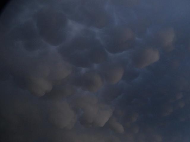 Wolken-Struktur bei Abzug 003
