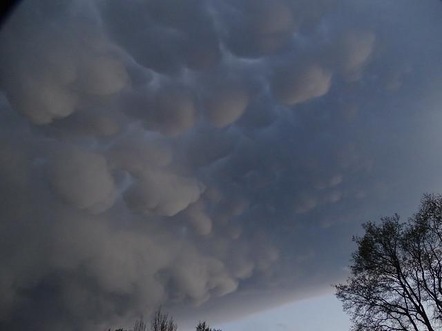 Wolken-Struktur bei Abzug 001