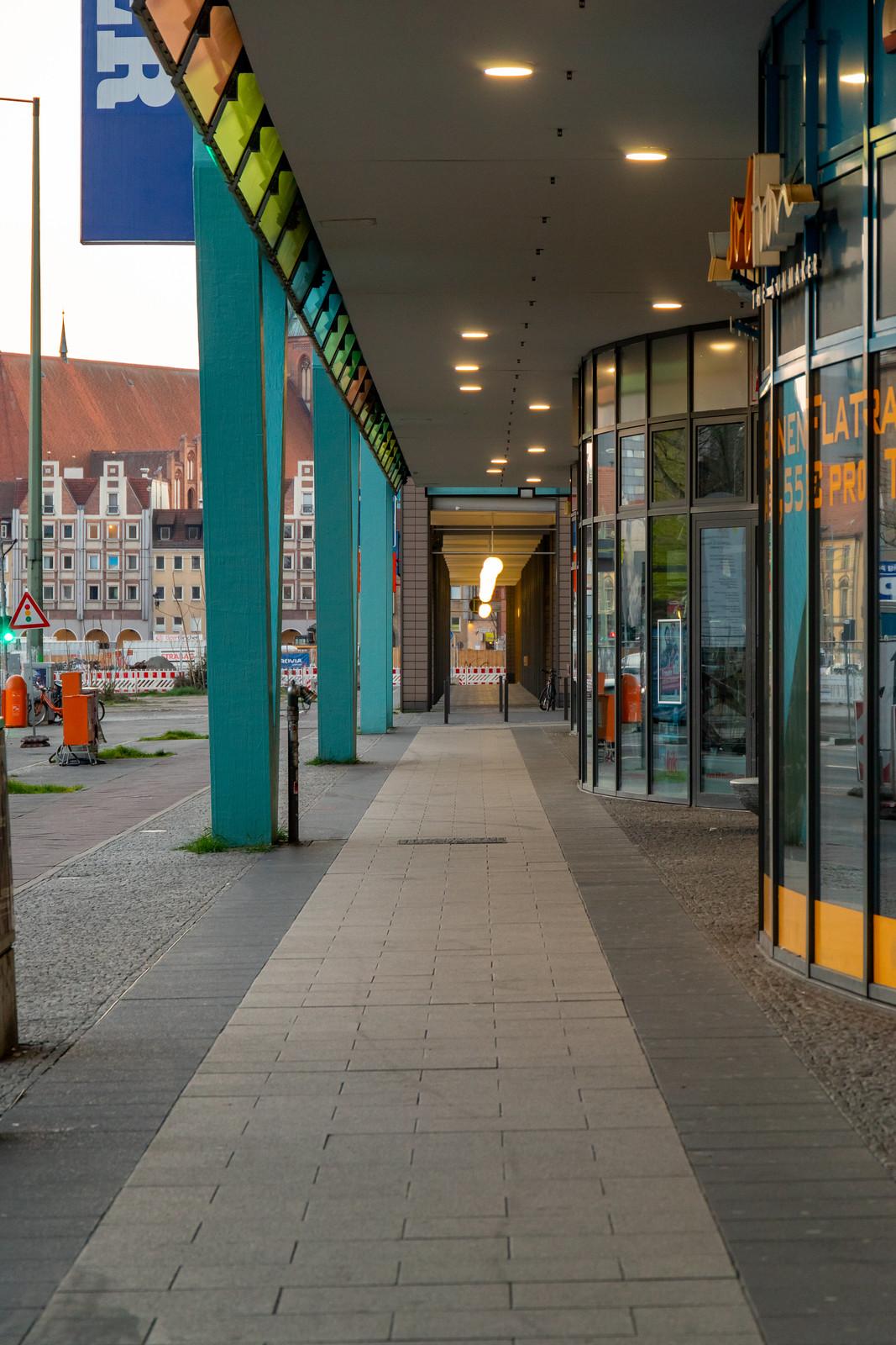 Arkade an den Rathauspassagen