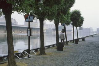 La Villette, Canal St Martin, 19e, Paris 1984-paris285