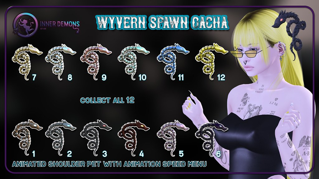 {ID} Wyvern Spawn Gacha @ Engine Room