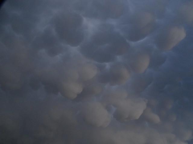 Wolken-Struktur bei Abzug 002