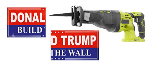 $18 Billion Border Wall Breeched by $90 Saws.