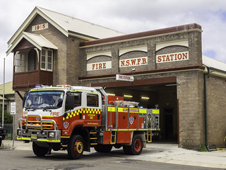 NSW Fire & Rescue Station - Lithgow NSW - built 1915 - see below | by Paul Leader - Paulie's Time Off Photography