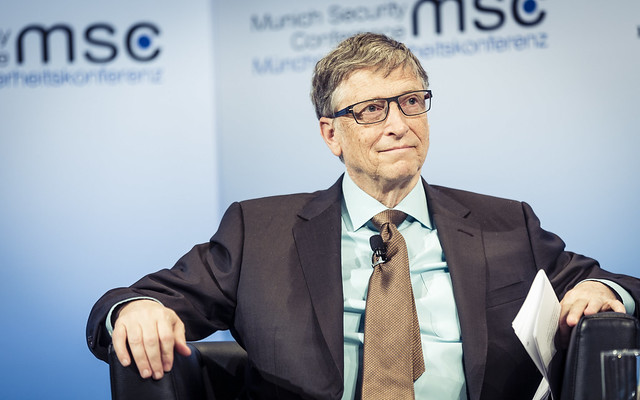 Bill Gates at Hioe Charity Forum