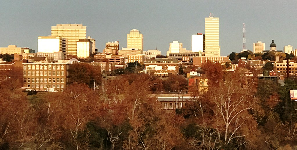 My little town, Columbia SC Nov 2019