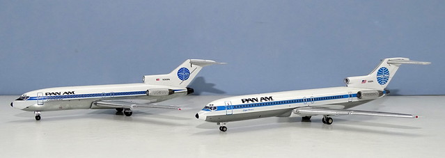 Pan Am Boeing 727-100 and 200