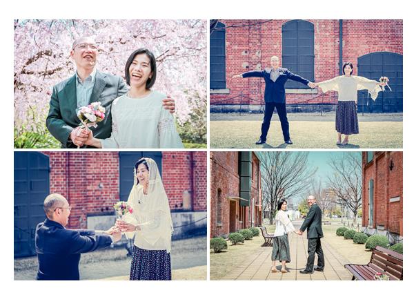 結婚10周年記念の夫婦写真 名古屋市