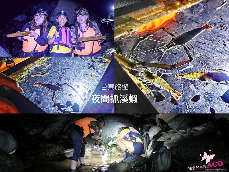 台東旅遊 台東夜間活動 夜間抓溪蝦01