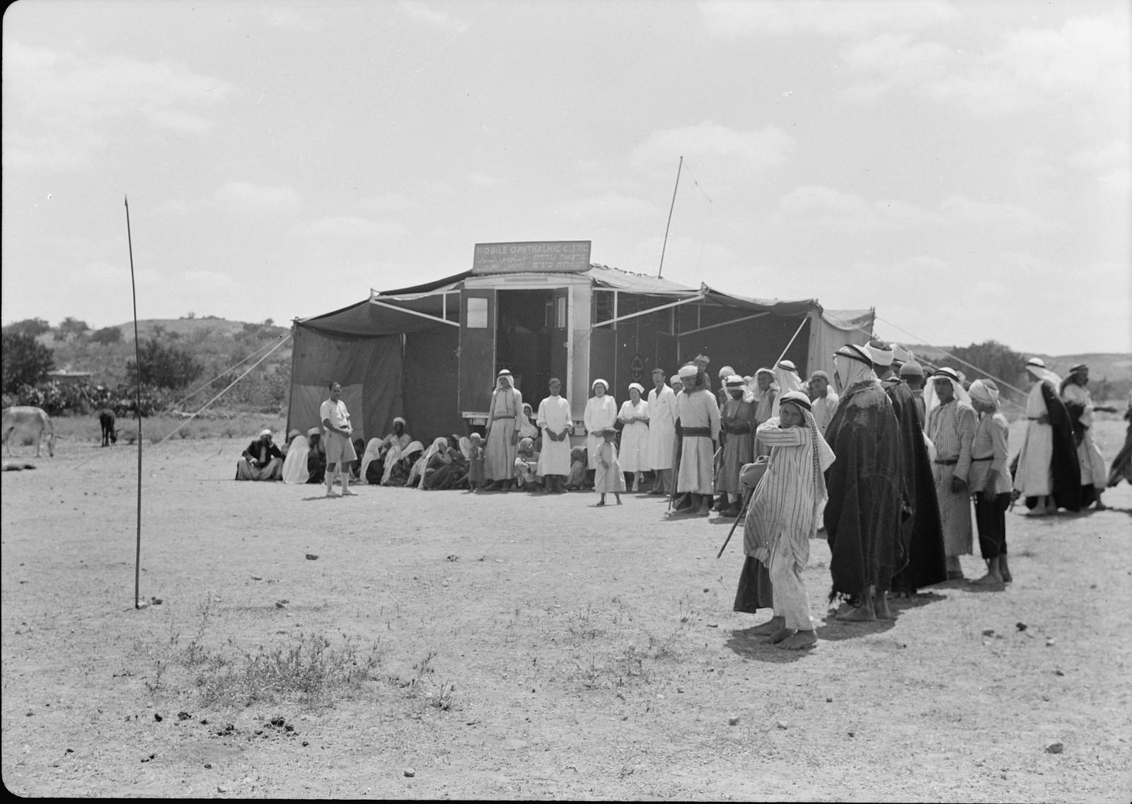 Офтальмологическая клиника на окраине села Неджд, северо-восточная часть Газы