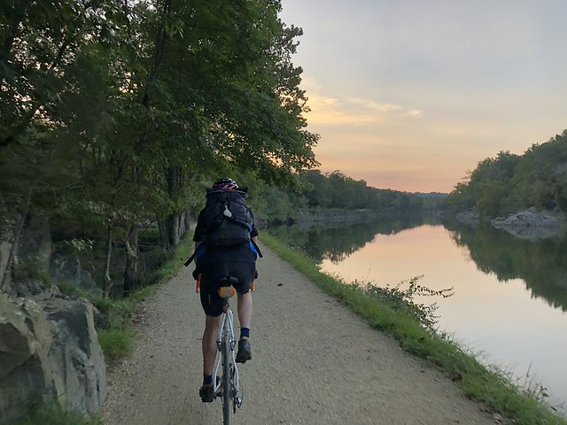 Dave on the C&O