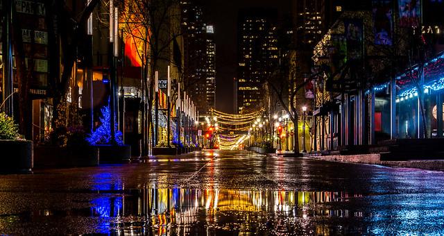 Night city colors