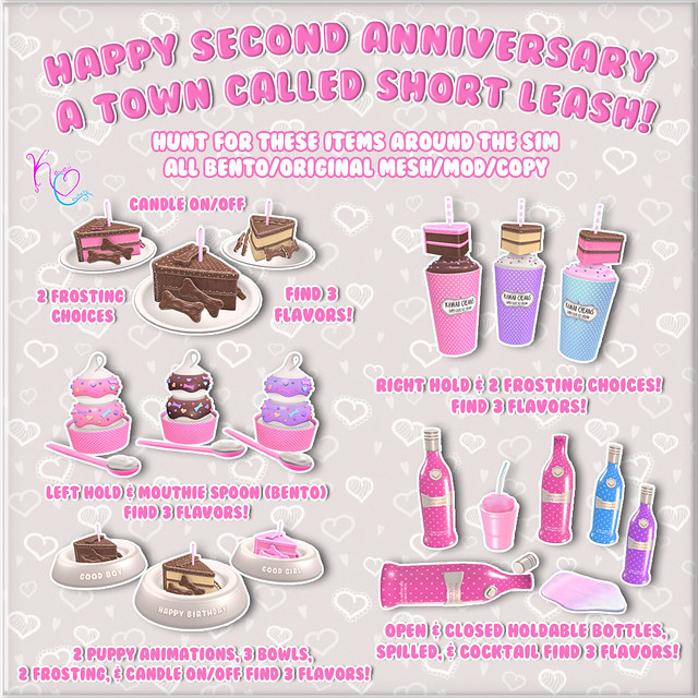 ATCSL Second Birthday Hunt Key Ad